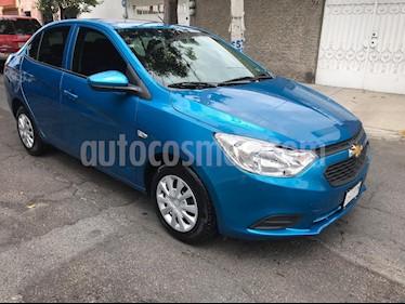 Chevrolet Aveo LS (Nuevo) usado (2019) color Azul Acero precio $162,000