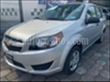 Foto venta Auto usado Chevrolet Aveo LS (Nuevo) (2018) color Plata precio $149,500