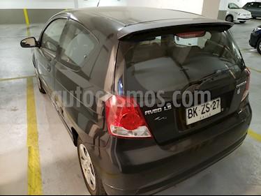 Chevrolet Aveo LS 1.4 3P usado (2008) color Negro precio $3.300.000