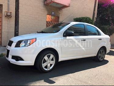 Chevrolet Aveo LS Aa radio (Nuevo) usado (2016) color Blanco precio $110,000