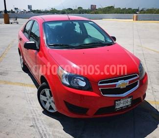 Chevrolet Aveo LS Aa radio (Nuevo) usado (2017) color Rojo precio $129,000