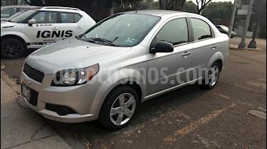 Foto venta Auto usado Chevrolet Aveo LS Aa radio (Nuevo) (2015) color Plata Brillante precio $128,000