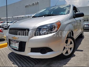 Foto venta Auto usado Chevrolet Aveo LS Aa Radio Aut (Nuevo) (2016) color Plata Brillante precio $145,000