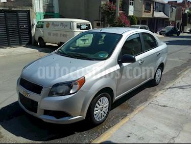Chevrolet Aveo LS Aa Radio Aut (Nuevo) usado (2016) color Plata Brillante precio $98,000