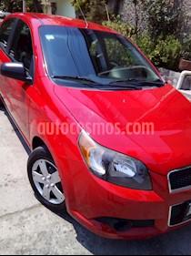 Chevrolet Aveo LS Aa Radio Aut (Nuevo) usado (2013) color Rojo precio $95,000