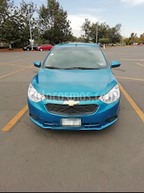 Foto venta Auto usado Chevrolet Aveo LS Aa Radio Aut (Nuevo) (2018) color Azul precio $165,000