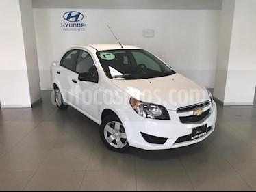 Foto venta Auto usado Chevrolet Aveo LS Aa Radio y Bolsas de Aire (Nuevo) (2017) color Blanco precio $139,000