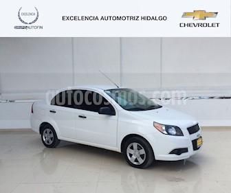 Foto venta Auto usado Chevrolet Aveo LS Aa Radio y Bolsas de Aire (Nuevo) (2017) color Blanco precio $140,000