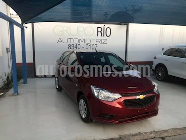 Foto venta Auto usado Chevrolet Aveo LS Aa Radio y Bolsas de Aire (Nuevo) (2019) color Rojo precio $195,000