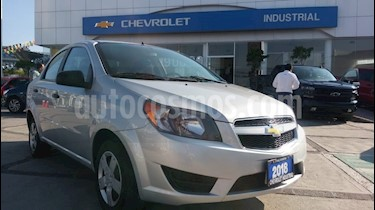 Foto venta Auto usado Chevrolet Aveo LS Aa Radio y Bolsas de Aire (Nuevo) (2018) color Plata precio $166,000