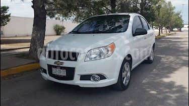 Chevrolet Aveo LS Aa Radio y Bolsas de Aire Aut (Nuevo) usado (2012) color Blanco precio $105,000