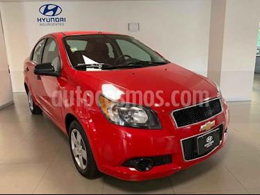 Foto Chevrolet Aveo LS Aa usado (2015) color Rojo precio $99,000