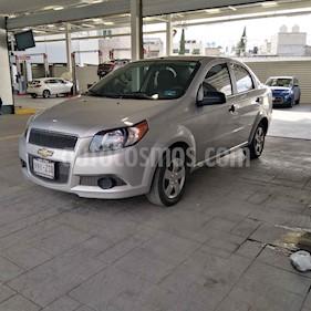 Foto venta Auto usado Chevrolet Aveo LS Aa (2014) color Plata precio $99,000