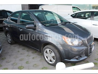 Foto venta Auto Seminuevo Chevrolet Aveo LS Aa (2014) color Gris Acero precio $130,000