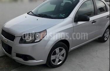Foto venta Auto usado Chevrolet Aveo LS Aa (2014) color Plata precio $90,000