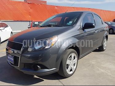 Foto venta Auto Seminuevo Chevrolet Aveo LS Aa (2015) color Gris precio $135,000