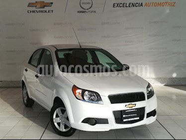 Foto venta Auto usado Chevrolet Aveo LS Aa (2017) color Blanco precio $139,000