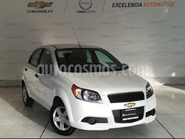 Foto venta Auto usado Chevrolet Aveo LS Aa (2014) color Blanco precio $105,000