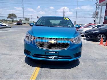 Foto venta Auto usado Chevrolet Aveo LS Aa (2019) color Azul precio $188,000
