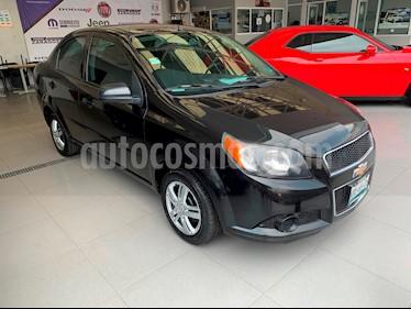 Foto venta Auto Seminuevo Chevrolet Aveo LS Aa (2017) color Negro precio $85,000