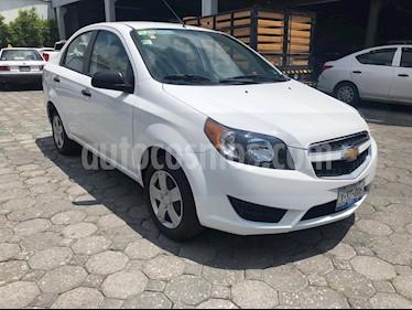 Foto venta Auto usado Chevrolet Aveo LS Aut (2017) color Blanco precio $149,900
