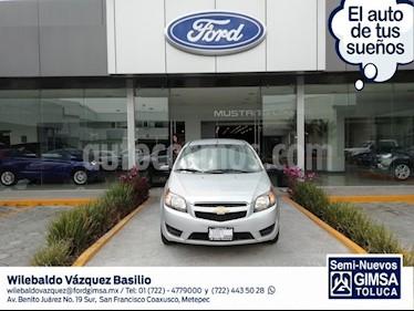 Foto venta Auto usado Chevrolet Aveo LS Aut (2018) color Plata precio $149,000