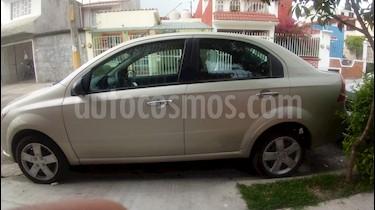 Chevrolet Aveo LS Aut usado (2013) color Plata precio $110,000