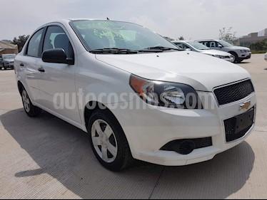 Foto venta Auto usado Chevrolet Aveo LS Aut (2017) color Blanco precio $124,000