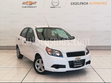 Foto venta Auto usado Chevrolet Aveo LS Aut (2015) color Blanco precio $119,000