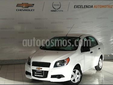 Foto venta Auto usado Chevrolet Aveo LS Aut (2017) color Blanco precio $145,000