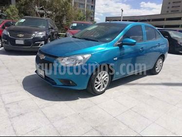 foto Chevrolet Aveo LS Aut usado (2018) color Azul precio $179,000