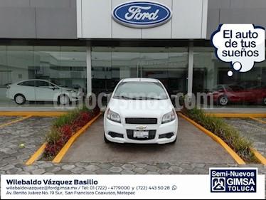 Foto venta Auto Seminuevo Chevrolet Aveo LS Aut (2016) color Blanco precio $123,000