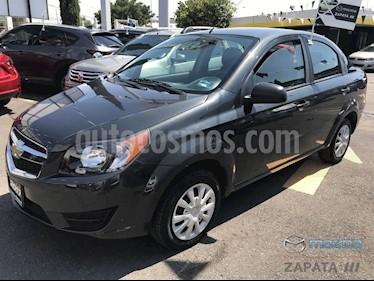 foto Chevrolet Aveo LS Aut usado (2017) color Gris precio $145,000