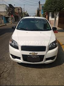 Chevrolet Aveo LS Aut usado (2014) color Blanco precio $85,000