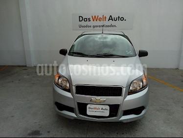 Foto venta Auto usado Chevrolet Aveo LS Aut (2016) color Plata precio $120,000