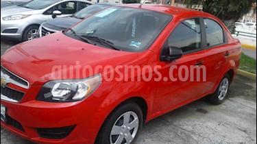 Foto Chevrolet Aveo LS Aut usado (2017) color Rojo precio $156,000