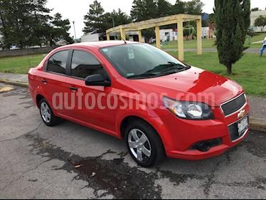 Chevrolet Aveo LS Aut usado (2015) color Rojo precio $105,000