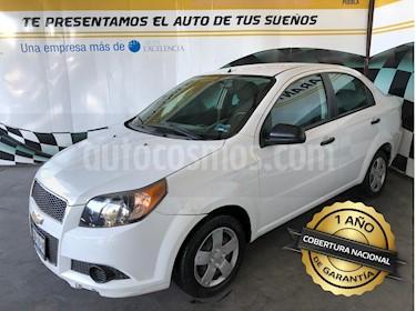 Foto venta Auto Seminuevo Chevrolet Aveo LS Aut (2014) color Blanco Alpine precio $123,000
