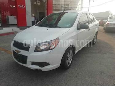 Foto venta Auto usado Chevrolet Aveo LS Aut (2016) color Blanco precio $118,000