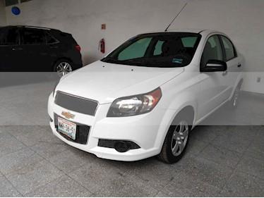 Foto venta Auto usado Chevrolet Aveo LS Aut (2016) color Blanco precio $139,000