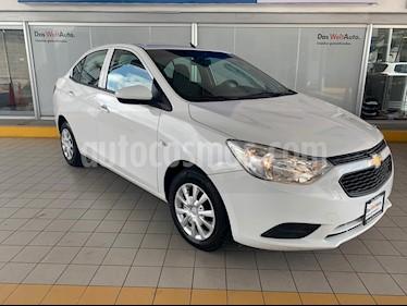 Foto Chevrolet Aveo LS Aut usado (2018) color Blanco precio $174,900