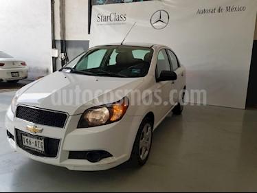 Foto venta Auto usado Chevrolet Aveo LS Aut (2016) color Blanco precio $123,499