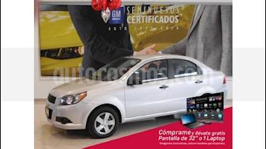 Foto venta Auto Seminuevo Chevrolet Aveo LS Aut (2017) color Plata precio $148,000