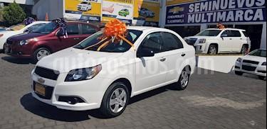 Foto venta Auto usado Chevrolet Aveo LS Aut (2016) color Blanco precio $135,900