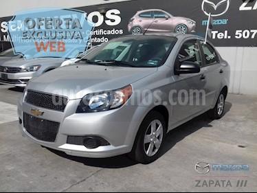 Foto venta Auto usado Chevrolet Aveo LS Aut (2016) color Plata Brillante precio $135,000