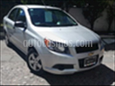 Foto venta Auto usado Chevrolet Aveo LS, Automatico con A/A, con radio (2015) color Plata precio $120,000