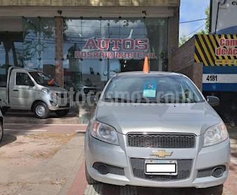 Foto venta Auto usado Chevrolet Aveo LS (2014) color Gris Claro precio $230.000