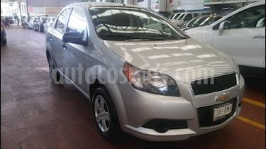 Foto venta Auto usado Chevrolet Aveo LS (2017) color Plata precio $155,000