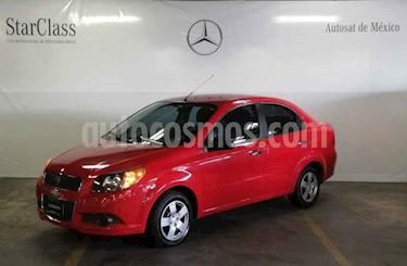 Foto venta Auto usado Chevrolet Aveo LS (2015) color Rojo precio $109,000