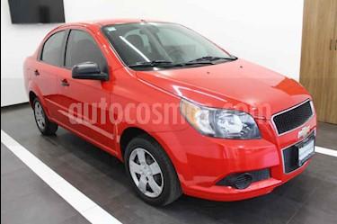 Foto venta Auto usado Chevrolet Aveo LS (2014) color Rojo precio $110,000